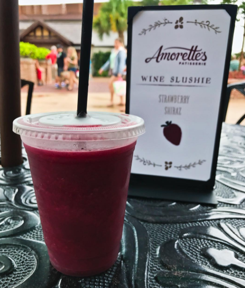 Think about it: A wine slushie would be an amazing way to take the edge off after waiting an hour and a half to ride Splash Mountain.