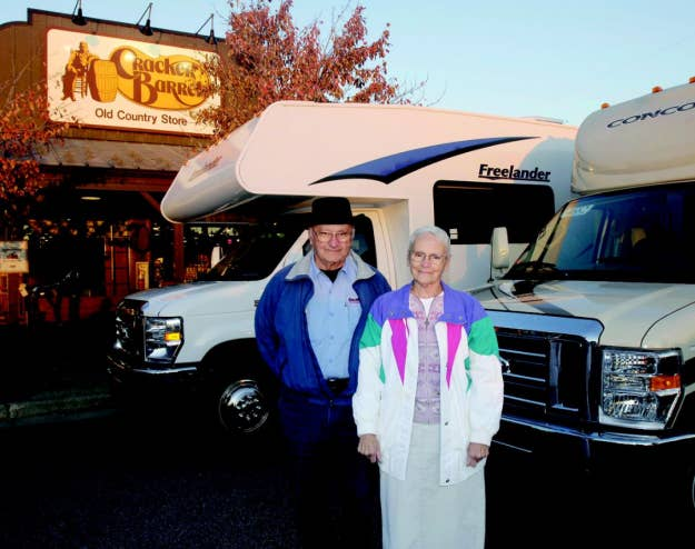 For the past 30 years, they've been driving their trusty RV around the country, hitting up every single country store for some food and a good time.