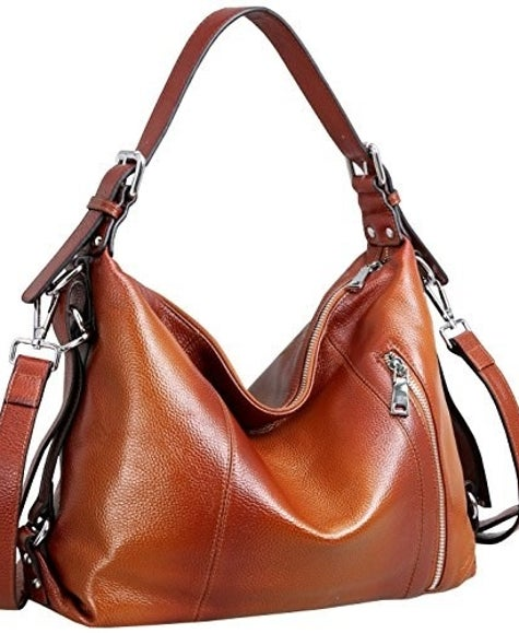 34 Of The Best Leather Bags You Can Get On Amazon 7752e6b5473c1