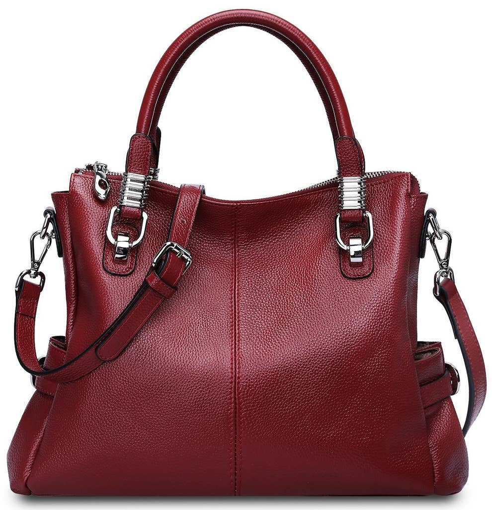 e2c598db0b 34 Of The Best Leather Bags You Can Get On Amazon