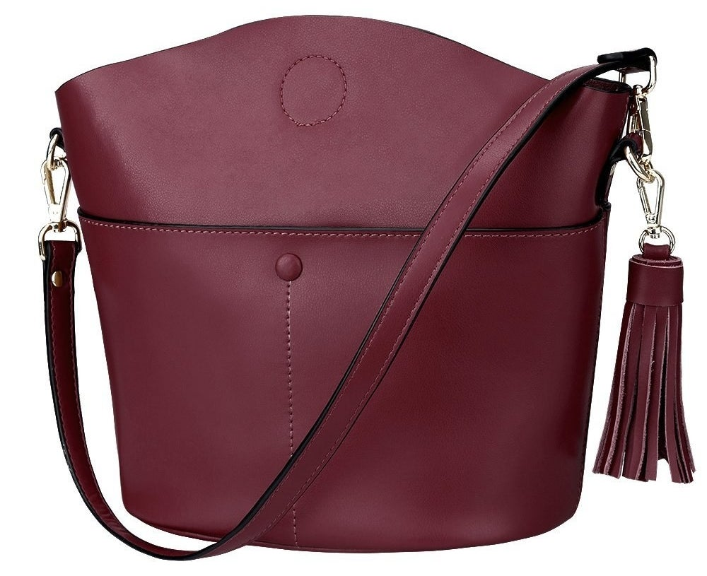 the purse in red