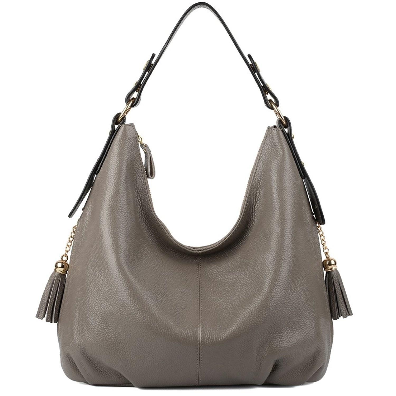 Women Genuine Leather Tote Shopper Shoulder Handbag Purse Crocodile Hobo Zip Bag