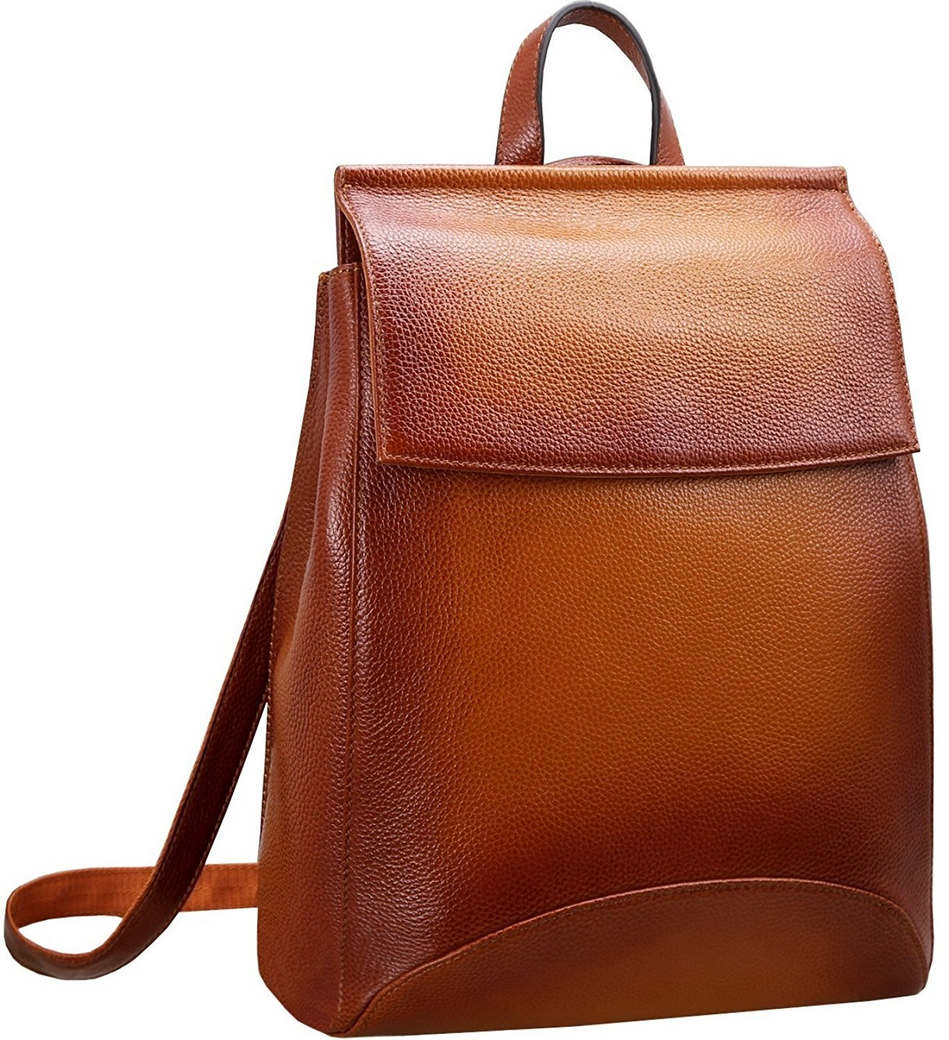 dd37ae1a6e35 A minimalist backpack that conveniently transforms into a shoulder bag with  the pull of a handle.