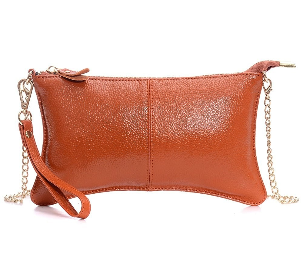 843160cb3f 30. A wristlet that comes with a crossbody chain so you can be hands-free  and happy.