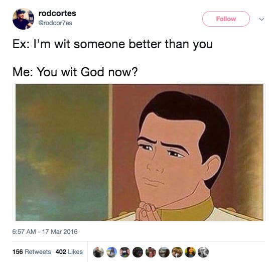 16 Tweets For People Who Are Petty AF And Hate Their Ex
