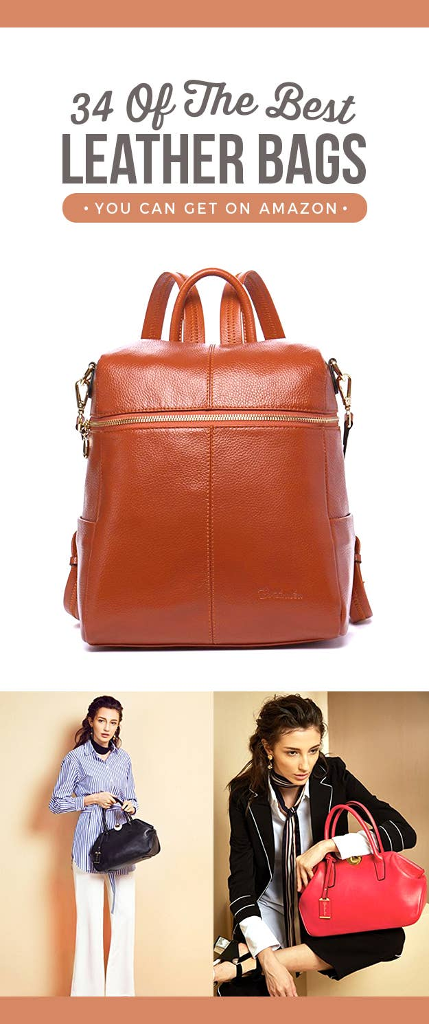 0de1632ff4ab 34 Of The Best Leather Bags You Can Get On Amazon