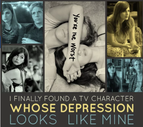 A good critical essay for Mental Health Week will look at something mental health- or illness-related being explored (or persistently left unexplored) in pop culture. It should discuss the trend and what that might indicate about the moment we're in culturally. It should also broaden the existing conversation and advance it in a significant way. And by the way, we welcome celebration as well as criticism.•I Finally Found A TV Character Whose Depression Looks Like Mine•How YouTubers Like Zoella Capitalize On The Self-Care Movement