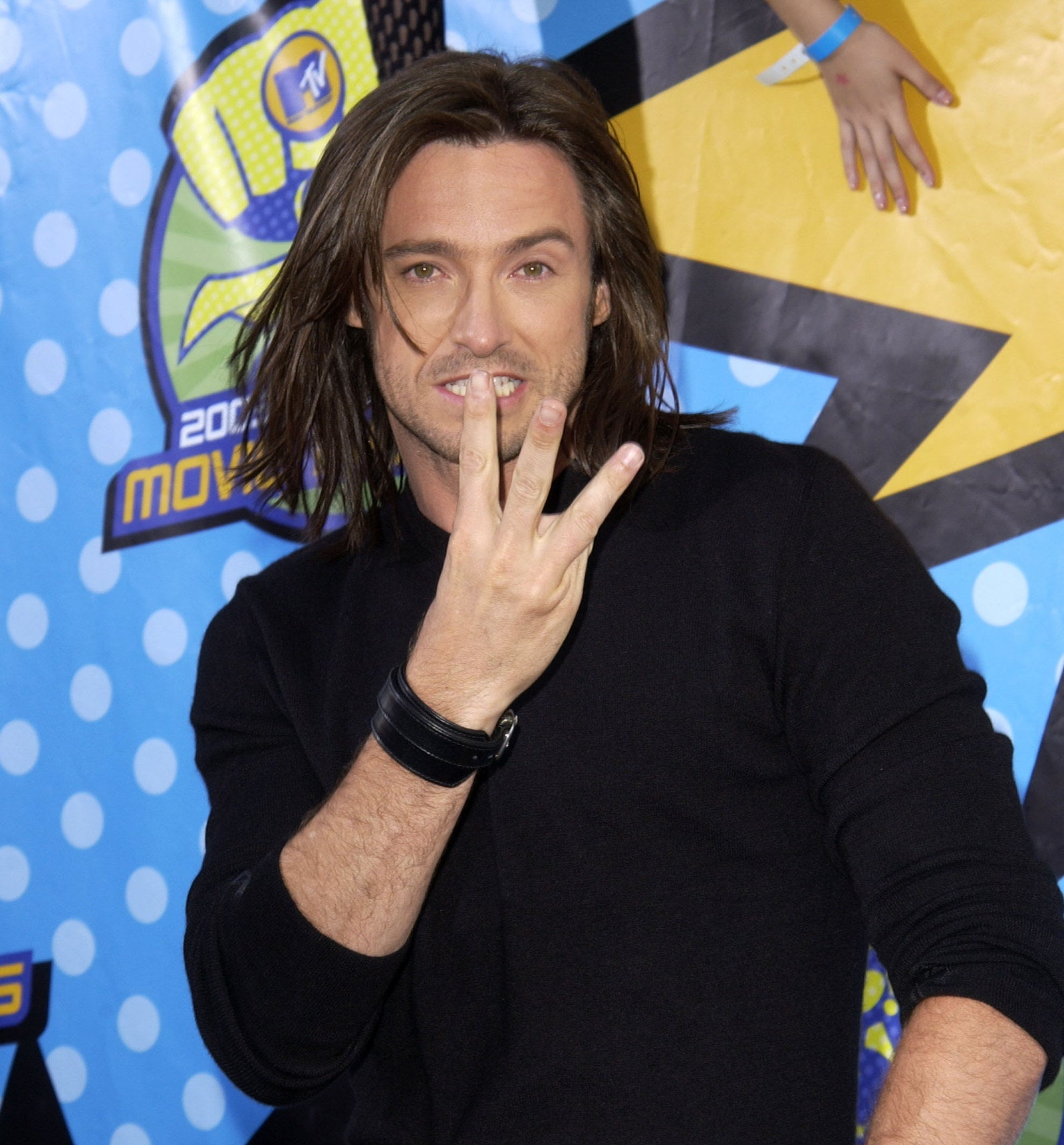 "Maybe you're thinking, ""I'm not sure if I even like Hugh Jackman with long hair."""