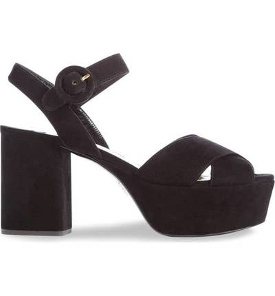 122f0e8d6ccf These Prada platform sandals because these would make for the ultimate I  can totally wear high heels all day and not be in excruciating pain shoes.
