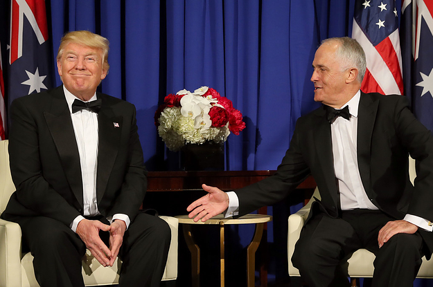 The Leaked Transcript Of That Heated Phone Call Between Trump And Turnbull Is Batshit Insane