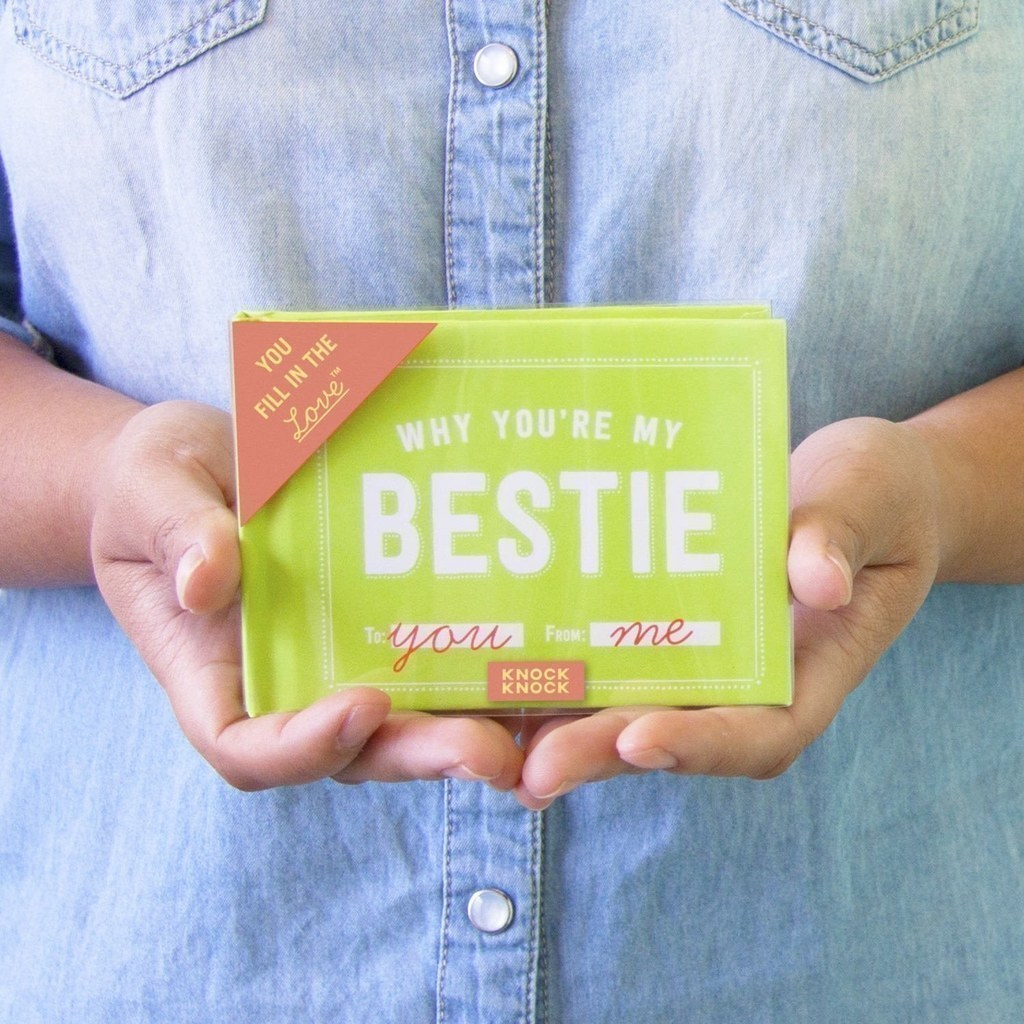 A Fill In The Blank Book About Your Bestie That S Ultimate Personalized Gift