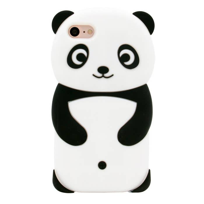 """Promising review: """"Super cute! You'll get a lot of compliments with this phone case. Doesn't smell when you get it. I've dropped my phone in this case from all sorts of heights and it's been keeping my phone intact."""" —Chelsea LegayadaGet it from Amazon for $8.95."""