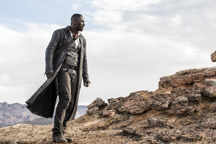 Idris Elba as Roland Deschain in The Dark Tower.