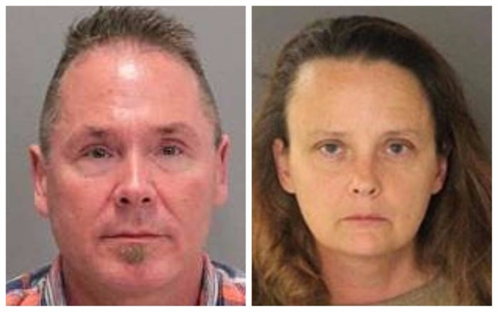 Suspects Michael Kellar and Gail Burnworth