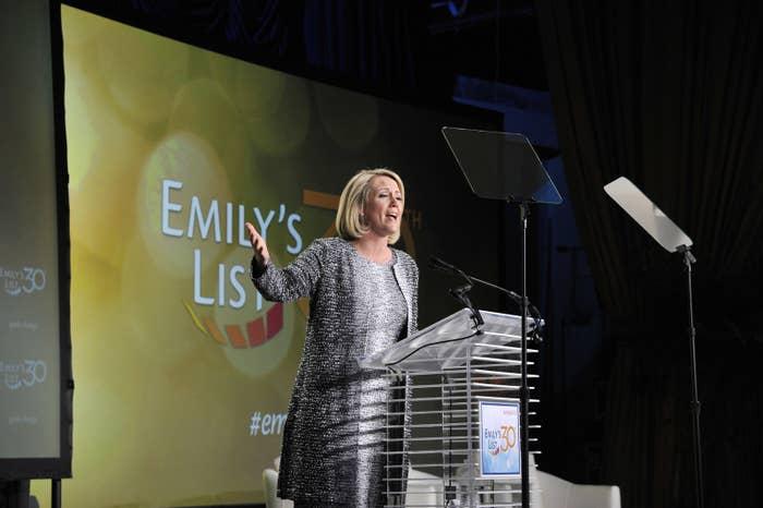 EMILY's List president Stephanie Schriock in 2015.