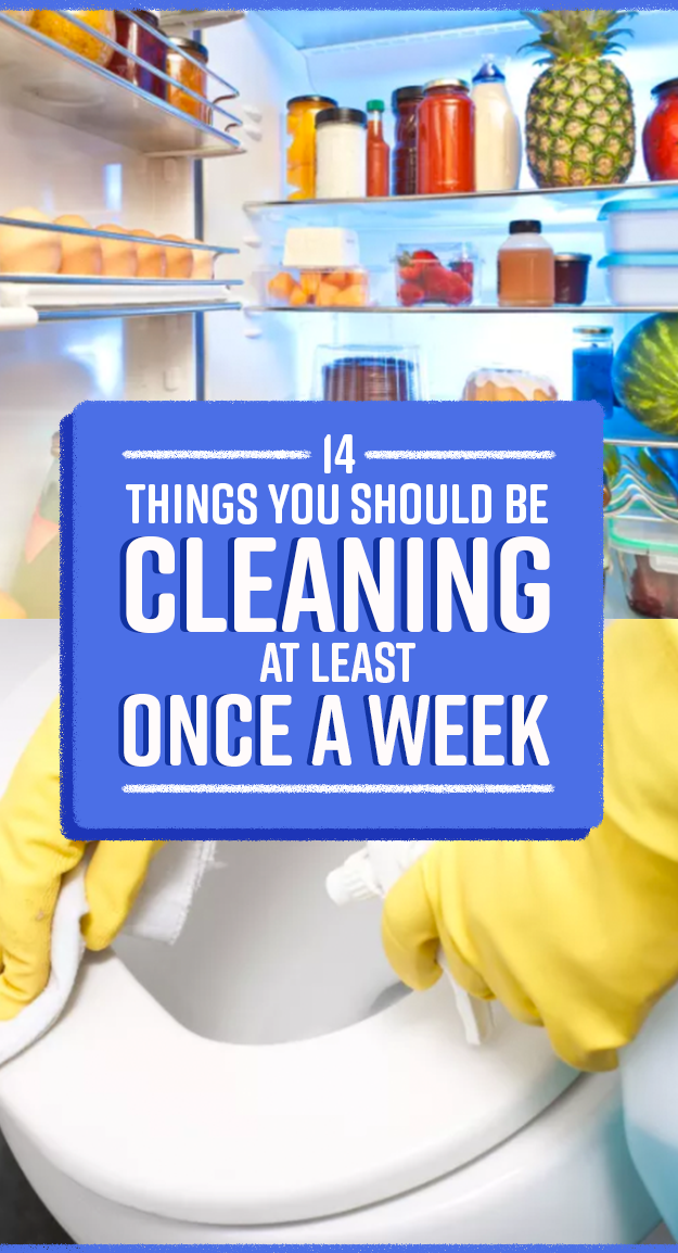 14 Things That Get So Filthy They Need Cleaning At Least