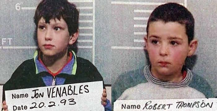 These 10-year-olds lured a 2-year-old boy away from his mom in an England shopping mall in 1993, leading him to nearby train tracks. There, they mutilated the boy so badly, his autopsy couldn't reveal his actual cause of death. —bridgets41 and foxygrandpa93