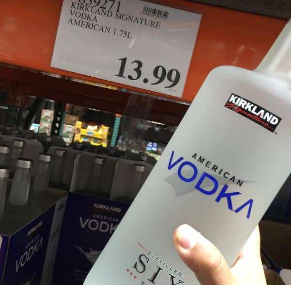 f57ce21160e7f Costco s Kirkland Signature vodka has scored higher than Grey Goose in  blind tastings.