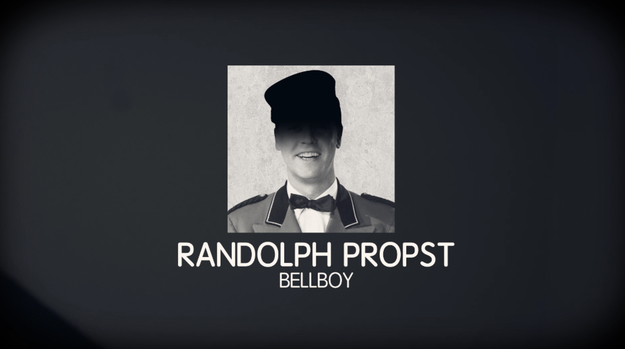 The bellboy who helped Owens to his room, Randolph Propst, reported that Owens only packed a brush, comb, and toothpaste.
