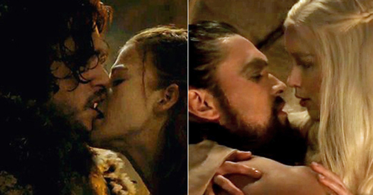 Game of the thrones sex scenes