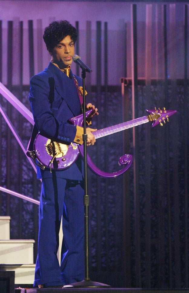 Ever since its release, Prince has been associated with the color purple, because DUH.