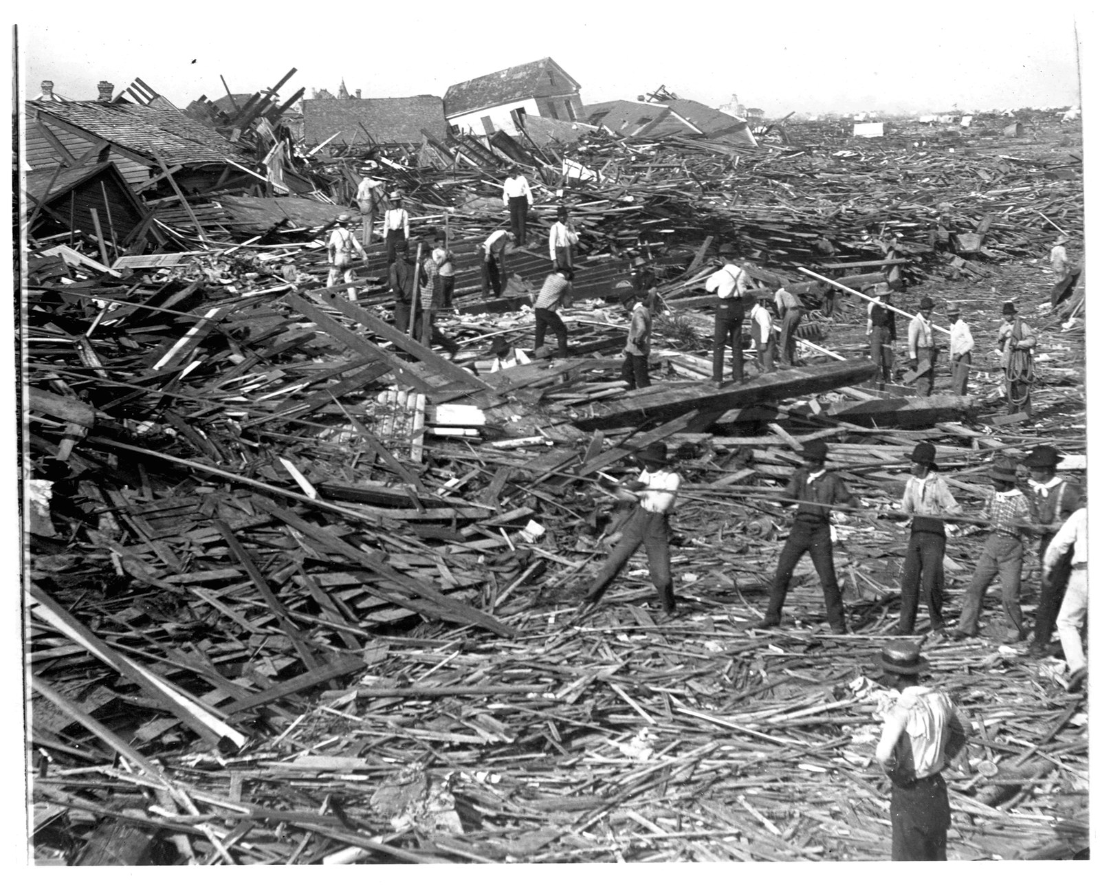 a brief history of one of the most destructive natural disasters in united states history hurricane