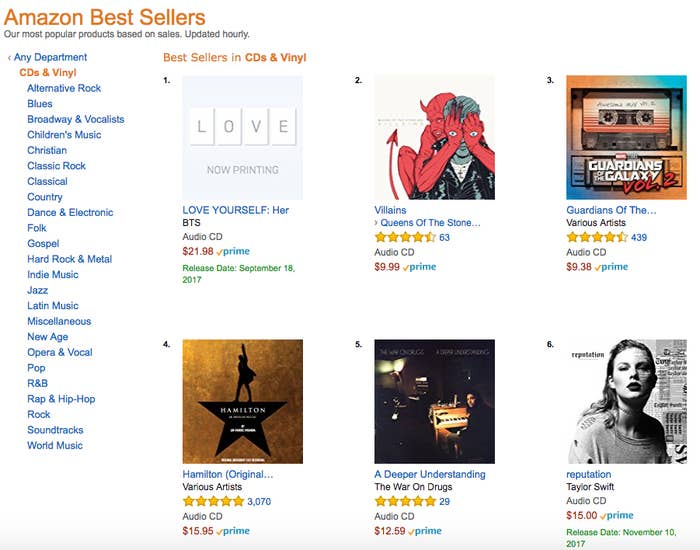You Can Now Preorder BTS's New Album On Amazon And