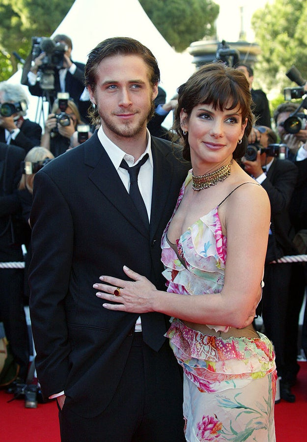 Ryan Gosling and Sandra Bullock.