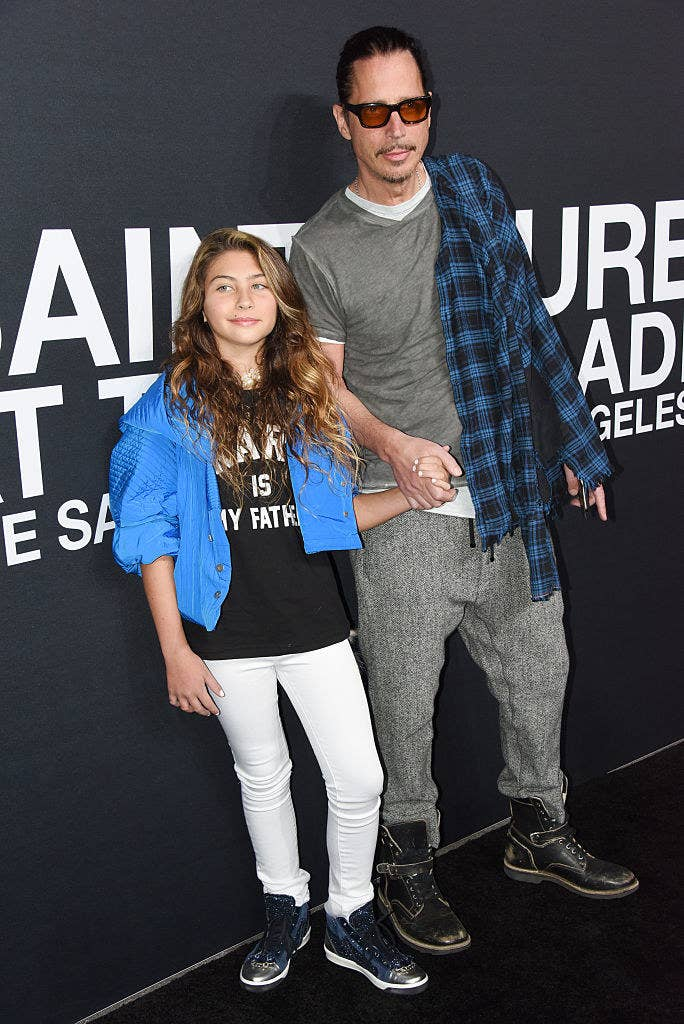 6c39c7a37f9 Toni Cornell is the 12-year-old daughter of singer Chris Cornell, who died  tragically at the age of 52 earlier this year.
