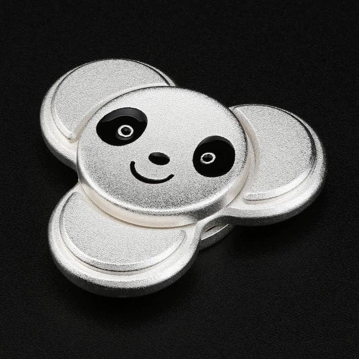 """What kind of product post is complete without one?Promising review: """"First of all, SO CUTE. Secondly, it's a heavier metal than our other spinners; good quality. The best feature are the three short appendages, so that tiny hands can work it!"""" —BrendaGet it from Amazon for $6.99."""