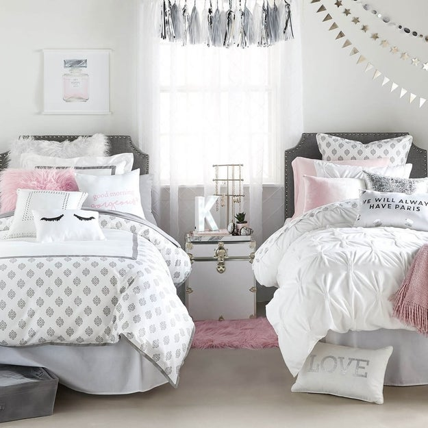 Pretty Room Decorations Pink Girls Bedroom Ideas Pretty: 19 Amazing Dorm Room Looks You Can Actually Recreate