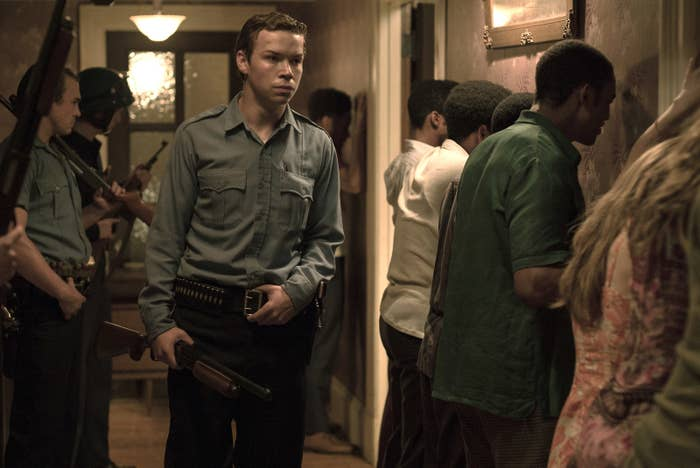 Will Poulter as Officer Krauss in Detroit.