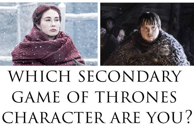 who are you in game of thrones
