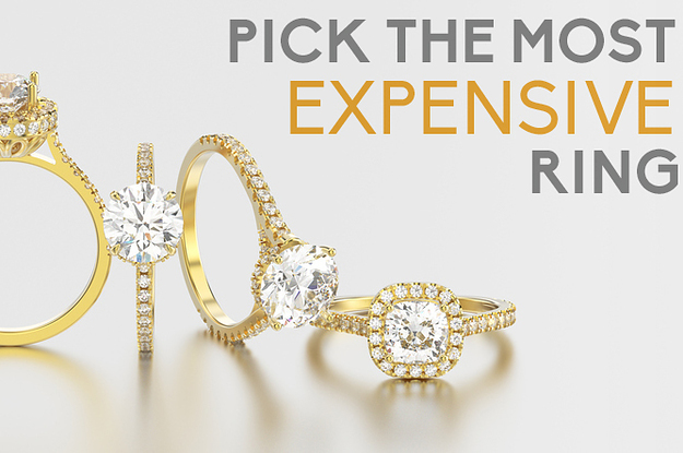Can You Pick The Most Expensive Engagement Ring?