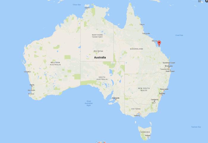 Shoalwater Bay, Queensland.