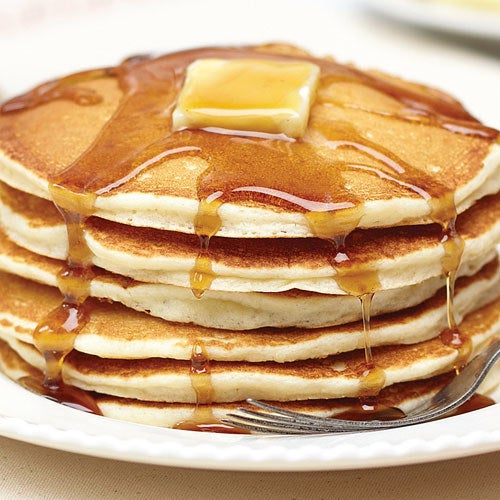 "Promising Review: ""Our gluten-free pancakes on Thanksgiving morning were the biggest hit ever!!! They were light in texture, and they browned beautifully. Everyone remarked on how fluffy they were. No one even guessed they were gluten-free."" —Rosemary H.Get it from Amazon for $10.95."