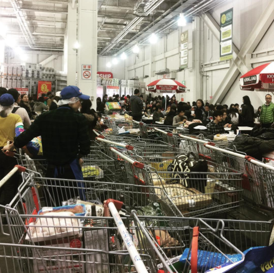 *Okay, so it's more warehouse than grocery store — but in my life, Costco is more of an endearing neighborhood grocery stop than a faceless cavern of foodstuffs.