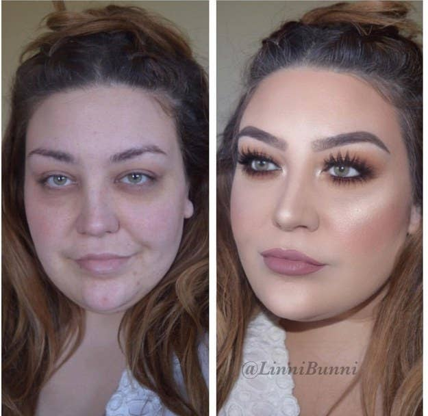 35 people share their most stunning makeup transformations