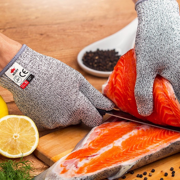 """Promising Review: """"Excellent gloves! They work extremely well for mandolin slicing, but would also be great for a beginner in the kitchen who isn't comfortable with a knife yet!"""" —Amazon CustomerGet them from Amazon for $12."""
