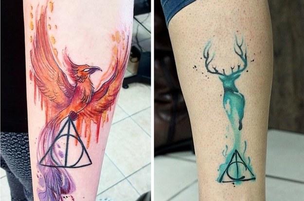 39 Bellísimos Tatuajes De Harry Potter Que Te Harán Decir Lo Quiero