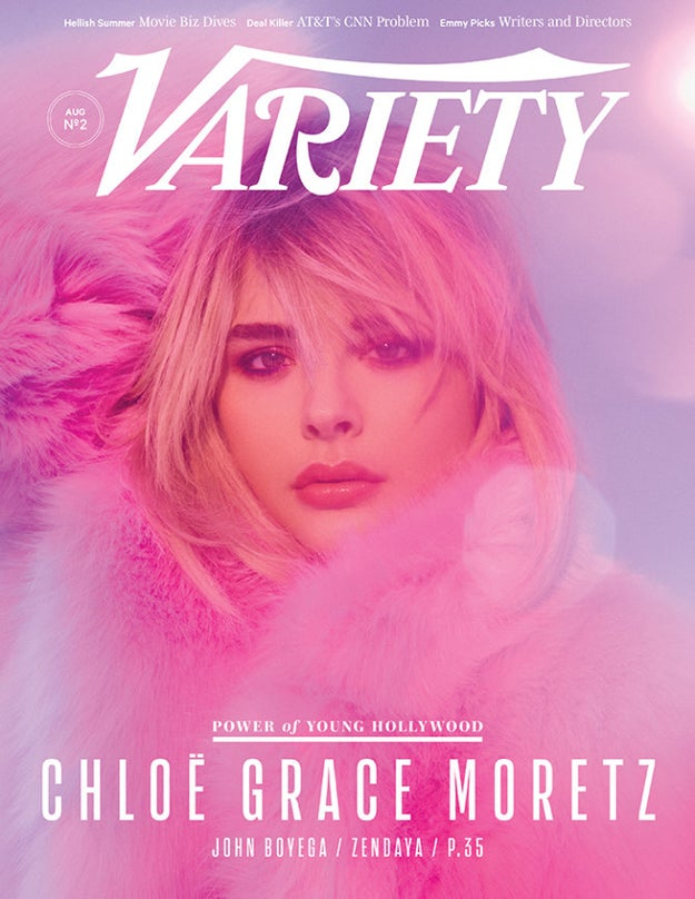 She already has four new movies in the works, which will come out later this year, so it's no surprise that Variety featured her in their 2017 Power of Young Hollywood issue.