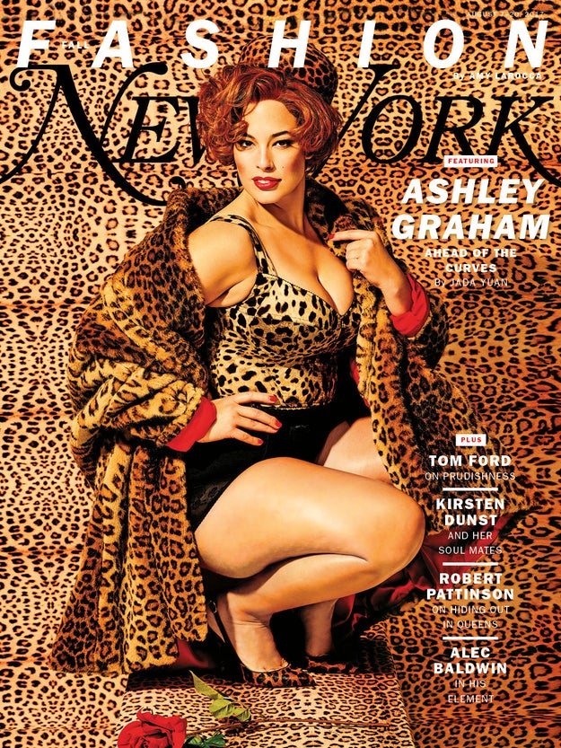 So Ashley Graham is on the cover of New York Magazine, and she looks GORGE AF!!!