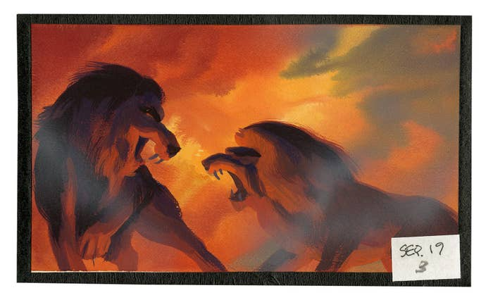A Wonderful Look At The Behind The Scenes Art Of The Lion King