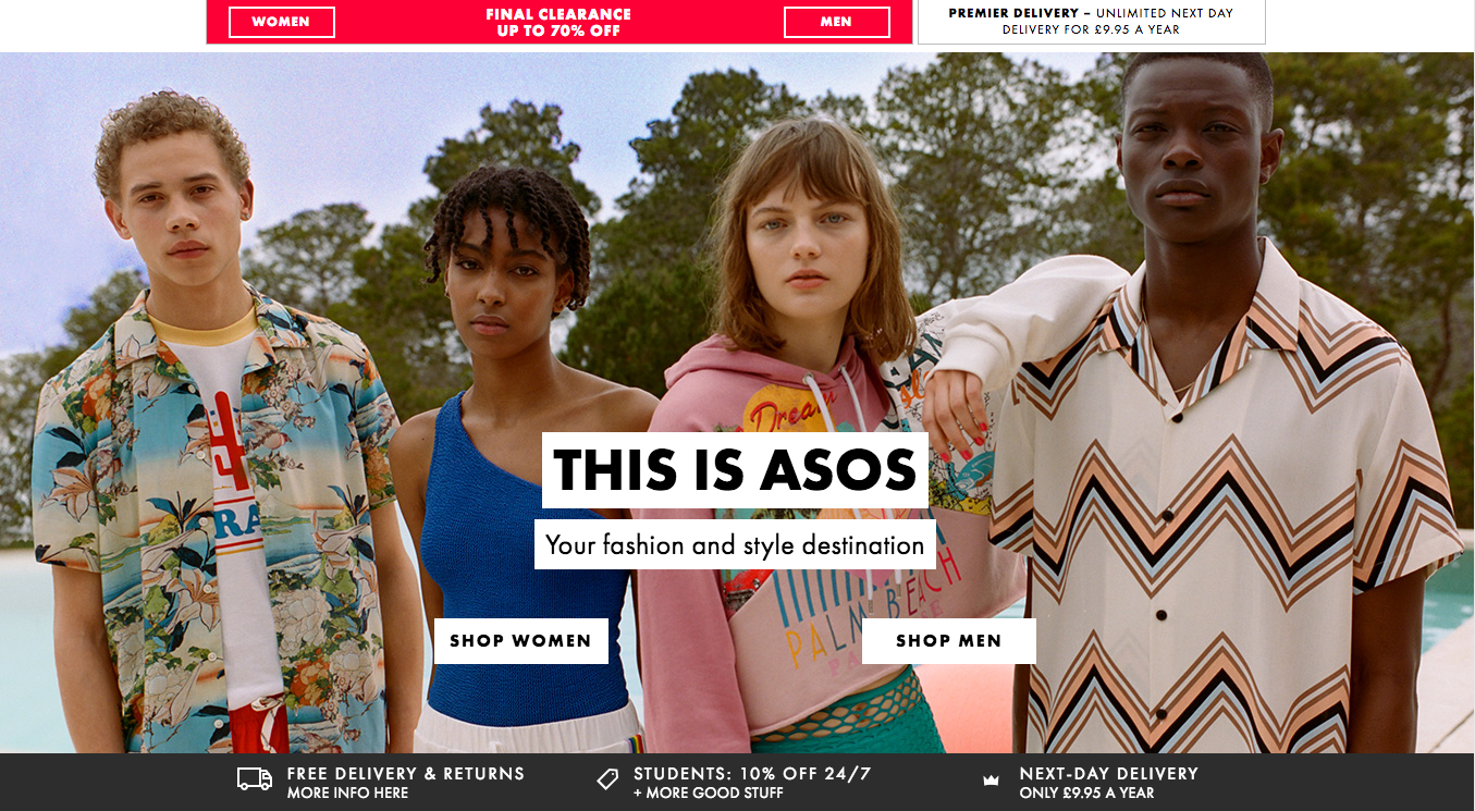 Asos Is Opening A Giant Warehouse In The US As Part Of A Huge Investment In The Country