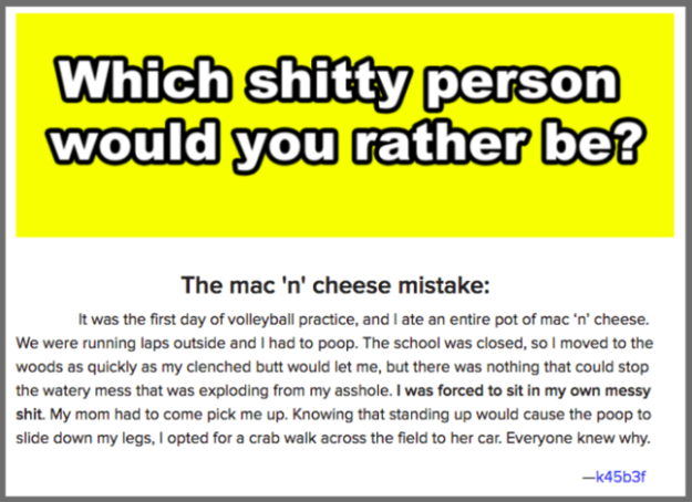 Would i fuck you quiz