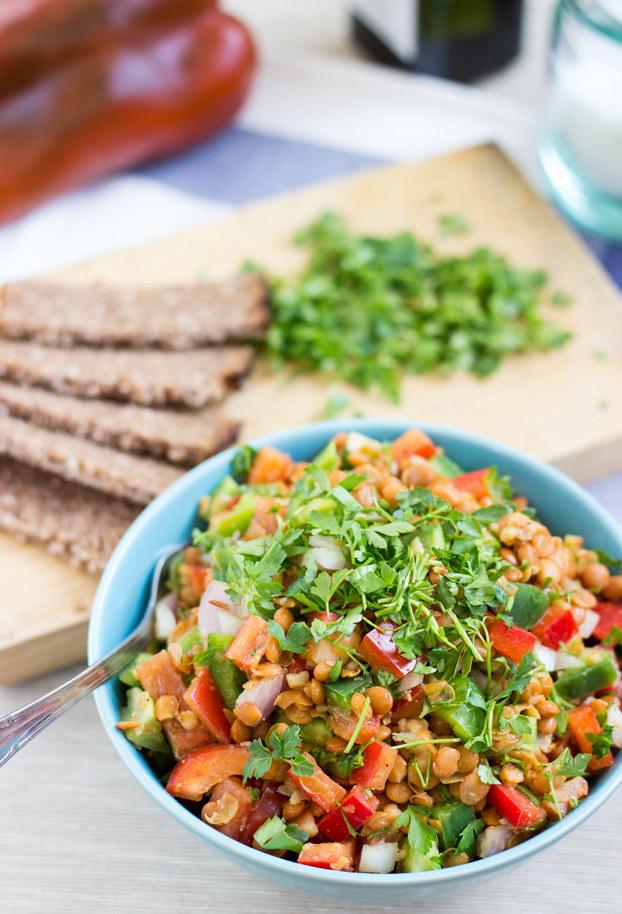Turkish Lentil Salad
