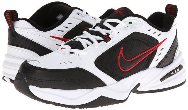 9cb345bb18fb Make sure your training days are always full of support with a pair of Nike  Air Monarch IV sneakers.