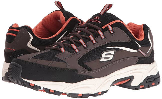 a82dbff8b275 Slide your shoes on without any drama by grabbing a pair of Skechers  Stamina Nuovo sneakers