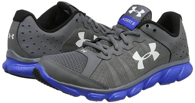 Walk On The Closest Thing To Air With Foam Support Provided By A Pair Of Under Armour Asset 6 Sneaks