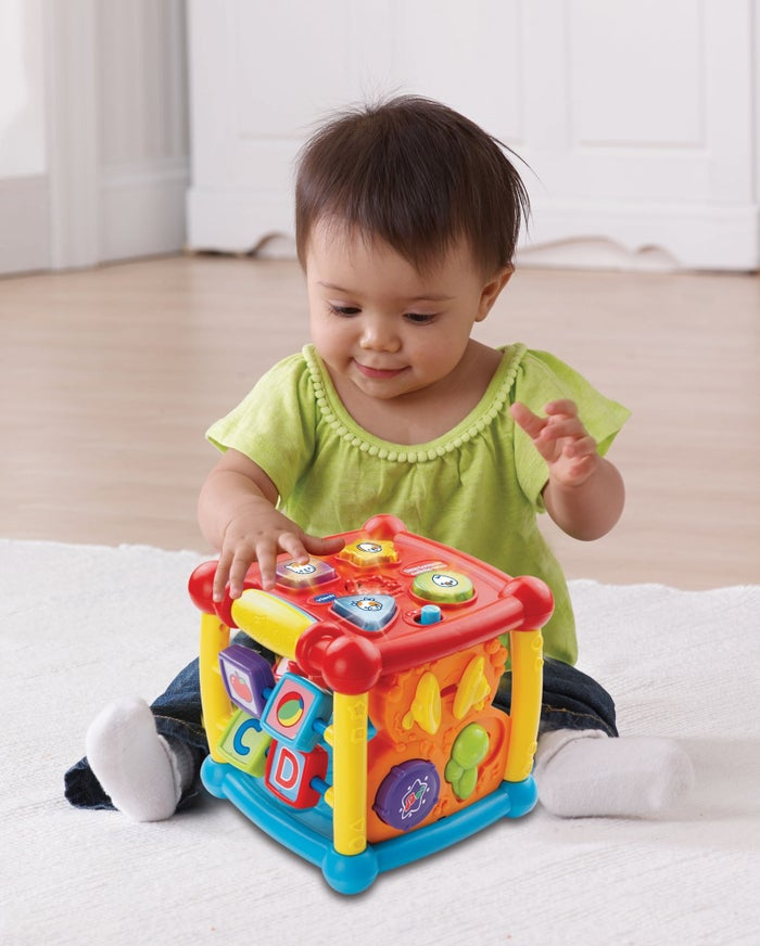 An Activity Cube Thats Part Educational Toy Part Baby Rave